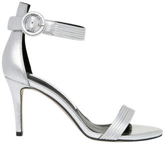 Tessa Silver Leather Sandal