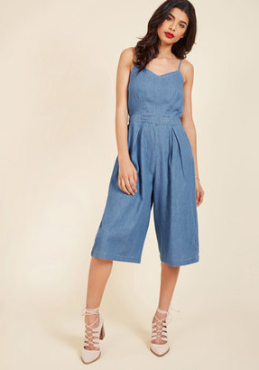ModCloth Pursuit of Beauty Jumpsuit in L $54.99 thestylecure.com
