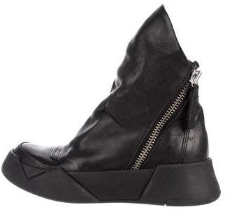 Cinzia Araia CA by Leather Ankle Boots