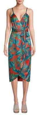 Nicole Miller Flora Wrap Dress
