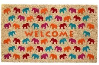 HFLT Elephant Herd Doormat