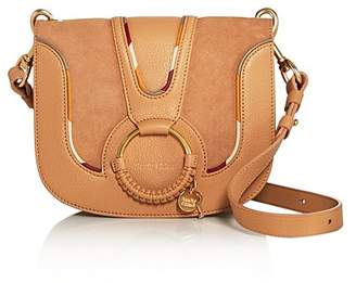 See by Chloe Hana Small Leather & Suede Crossbody