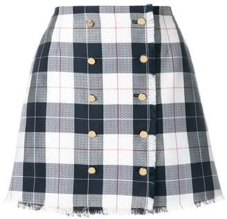 Thom Browne Buffalo Check Mini Skirt