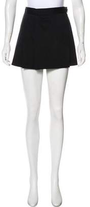 Prada Virgin Wool Mini Skirt