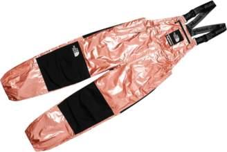 Supreme TNF Metallic Bib Pant - 'SS 18' - Rose Gold