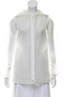 Burberry Hooded PVC Jacket