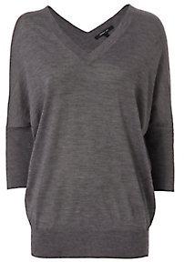 Derek Lam Batwing Sweater: Grey $650 thestylecure.com
