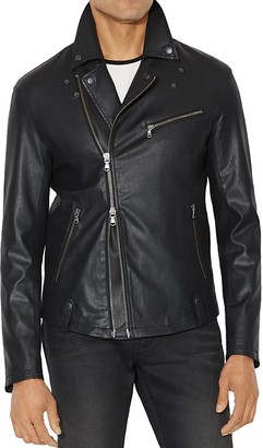 John Varvatos Star USA Coated Moto Jacket $498 thestylecure.com