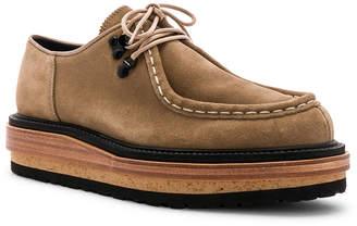 Sacai Suede Hybrid Sole Shoes