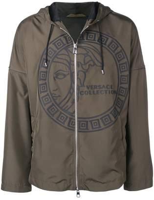 Versace Medusa logo jacket