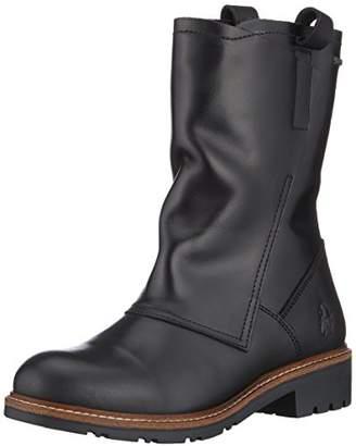 Fly London Women's SEMU329FLY Slouch Boots, (Black 002), 7 (40 EU)