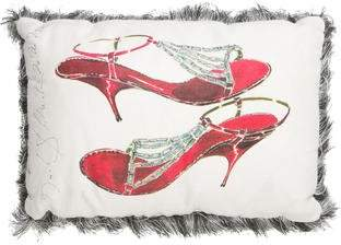 Neiman Marcus Manolo Blahnik Throw Pillow