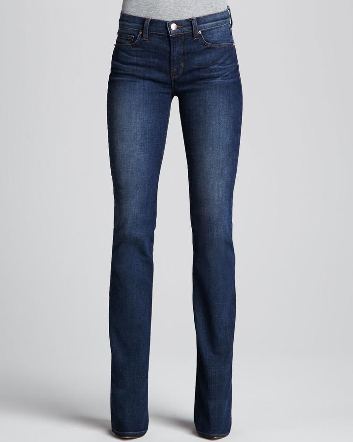 J Brand Jeans Brooke Waltz Boot-Cut Jeans