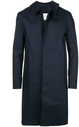 MACKINTOSH single breasted coat