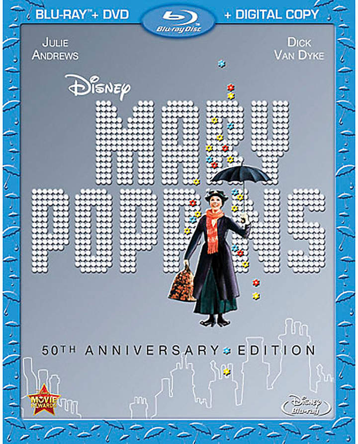 Disney Mary Poppins 50th Anniversary Edition 2-Disc Blu-ray