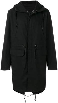 Raf Simons replicants hooded jacket