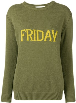 Alberta Ferretti Friday knitted jumper