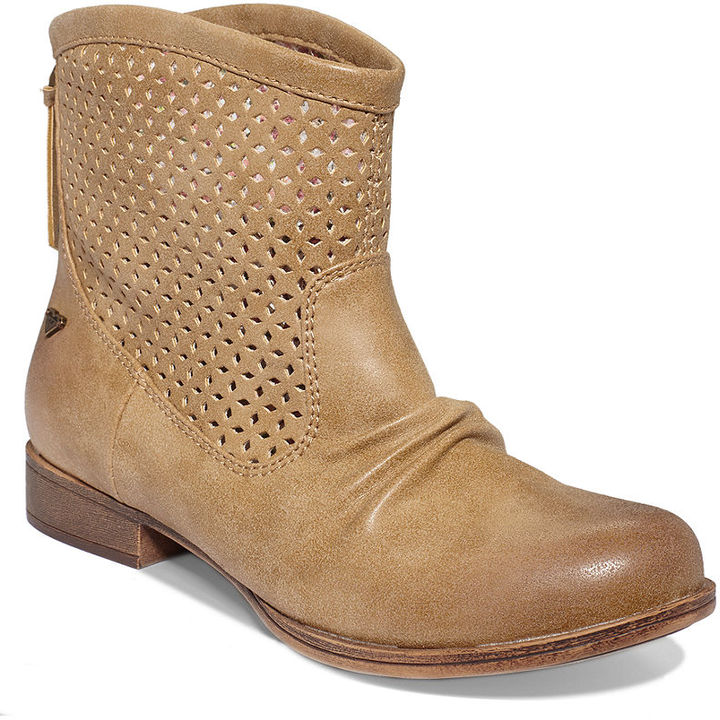 Roxy Vallerie Perforated Booties
