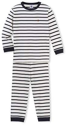 Petit Bateau Boy's Bagel Striped Pyjama Set