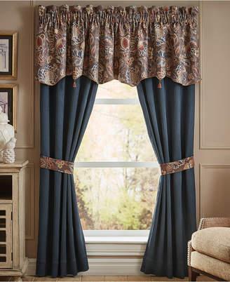 "Croscill Brenna Pole Top 82"" x 84"" Window Drapery Bedding"