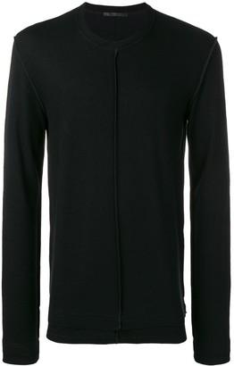 The Viridi-anne raw hem sweater
