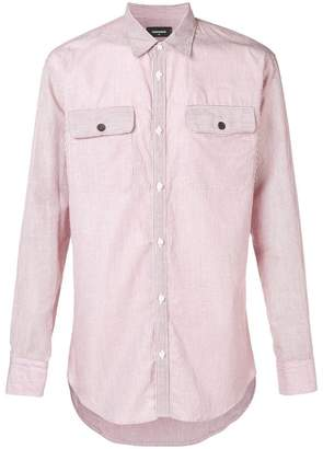 DSQUARED2 striped slim-fit shirt