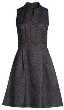 Lilly Pulitzer Franci Metallic Jacquard Dress