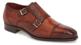 Magnanni Isaac Cap Toe Monk Shoe