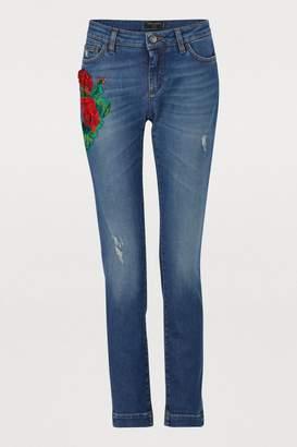 Dolce & Gabbana Patch jeans