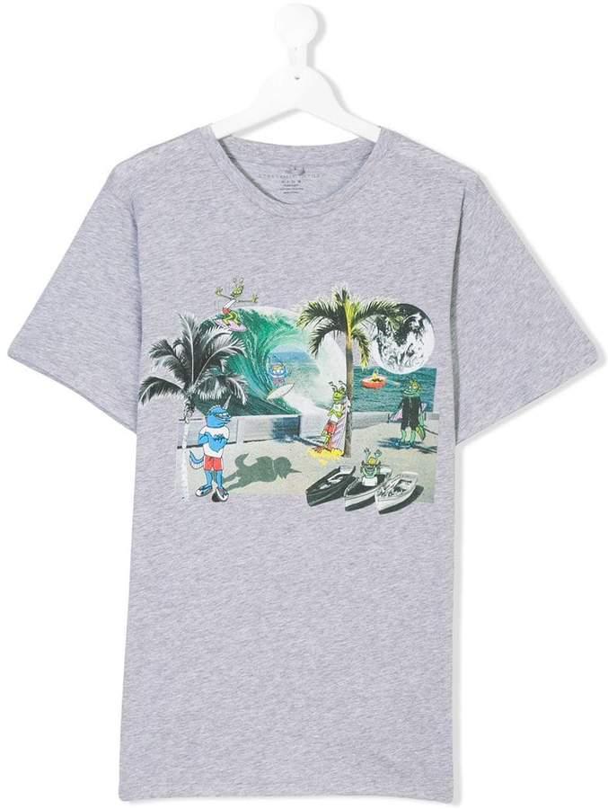 Arrow Visitors print T-shirt