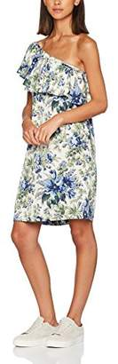 Warehouse Women's Lily Print One Shoulder Dress