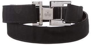 Gucci Canvas Waist Belt