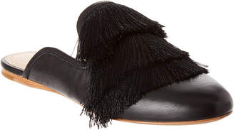 Rachel Zoe Kaius Fringe Leather Flat