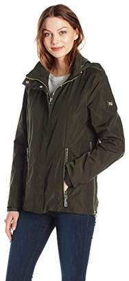Dawn Levy Women's Jackie Coat with Storm Cuff and Hide Away Hood