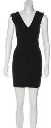 Pierre Balmain Sleeveless Mini Bodycon Dress
