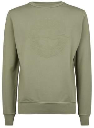 Stone Island Embossed Logo Sweatshirt