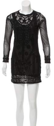 Isabel Marant Long Sleeve Mini Dress