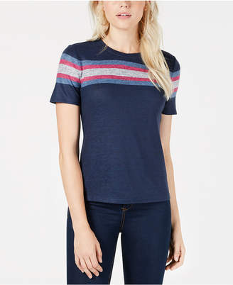 Maison Jules Chest-Stripe T-Shirt