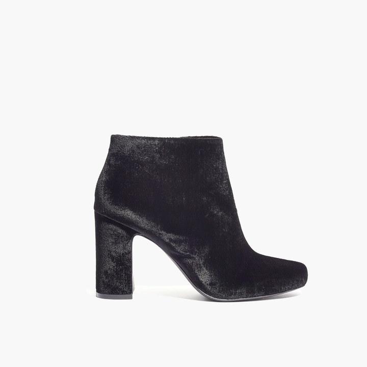 The Nealy Boot in Velvet