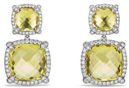 David Yurman Châtelaine Double-Drop Earrings with Diamonds