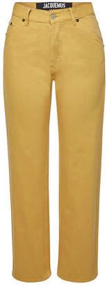 Jacquemus Le Jean High-Waist Jeans