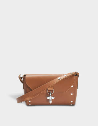 MM6 MAISON MARGIELA Tool Bag in Camel Plain Leather