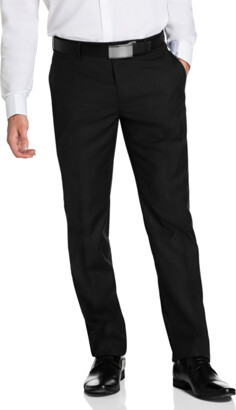 yd. BLACK CAHN SLIM DRESS PANT