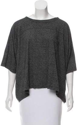 Zucca Short Sleeve Oversize Top