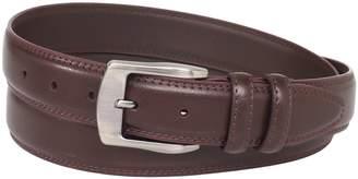 Florsheim Men's Big-Tall Pebble Grain Leather Belt 35MM