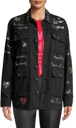 Cinq à Sept Love Letter Canyon Sequin Jacket