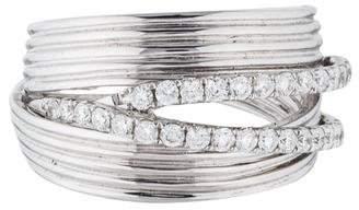 Ring 14K Diamond Crossover
