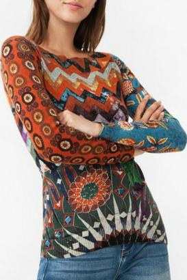 DESIGUAL Stay With Me Sweater $105.95 thestylecure.com