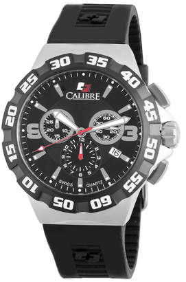 Lancer Calibre 44mm Chronograph Watch w/ Rubber Strap