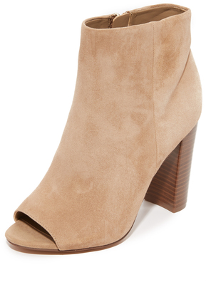 Sam Edelman Yarin Open Toe Booties $160 thestylecure.com